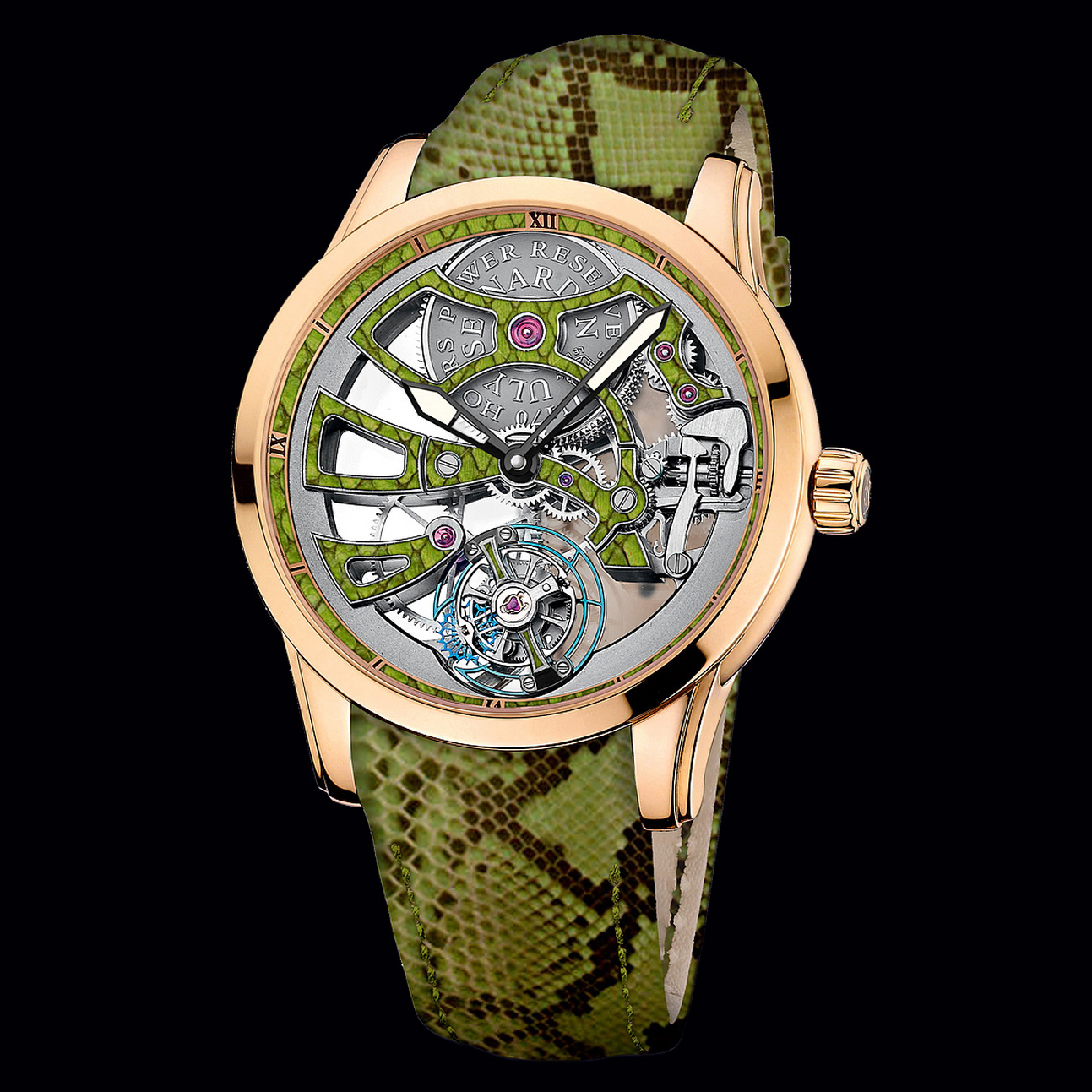 Skeleton Tourbillon Manufacture Python 1706-129/08