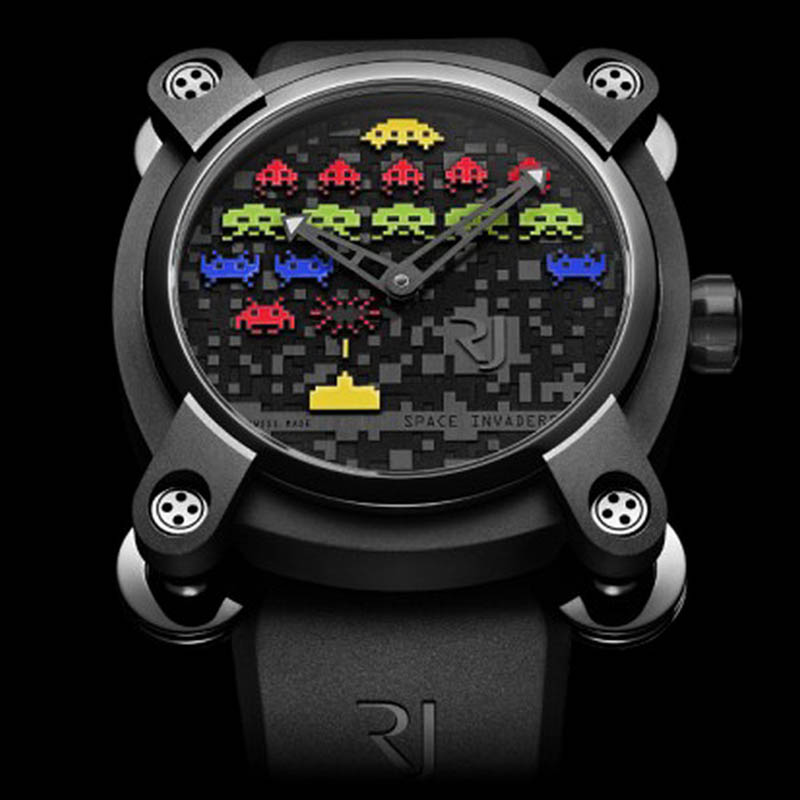 Space Invaders Reloaded RJ.M.AU.IN.006.08 (Stainless Steel)