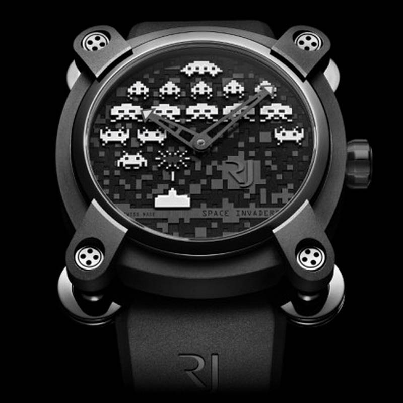 Space Invaders Reloaded RJ.M.AU.IN.006.10 (Stainless Steel)