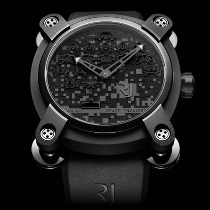 Space Invaders Reloaded RJ.M.AU.IN.006.11 (Stainless Steel)