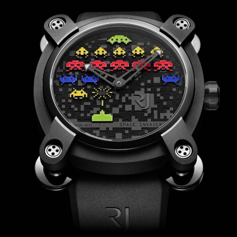 Space Invaders Reloaded RJ.M.AU.IN.006.12 (Stainless Steel)