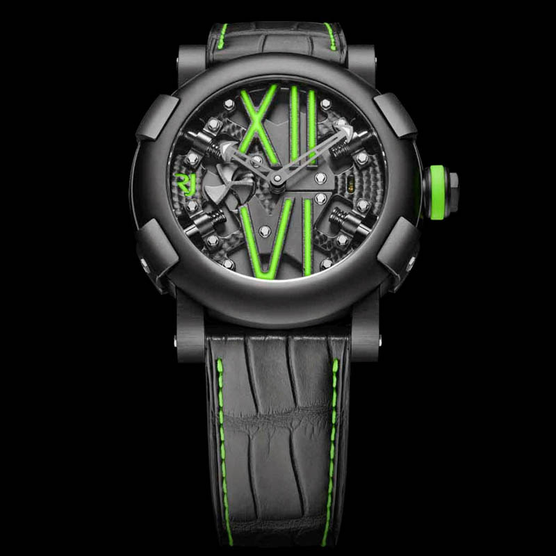 Steampunk Auto Green RJ.T.AU.SP.005.03 (Stainless Steel)