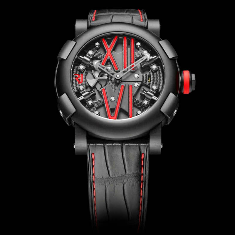 Steampunk Auto Red RJ.T.AU.SP.005.04 (Stainless Steel)