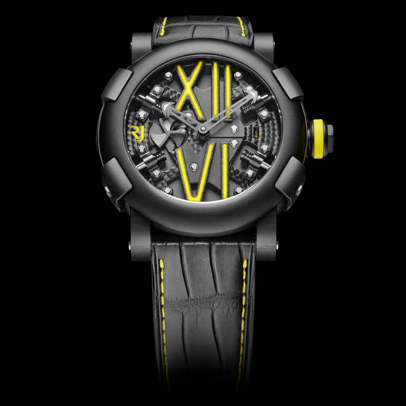 Steampunk Auto Yellow RJ.T.AU.SP.005.06 (Stainless Steel)