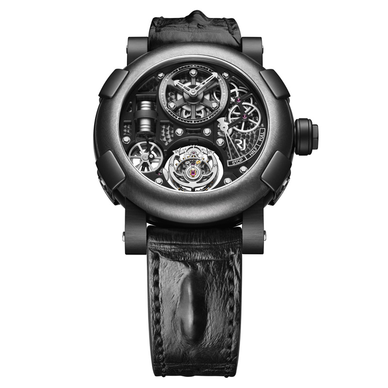 Steampunk Tourbillon Gunmetal RJ.T.TO.SP.003.01 (PVD Stainless Steel and Titanium)