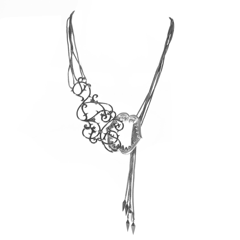 Les Dents de la Mer Sterling Silver Necklace 3013246001