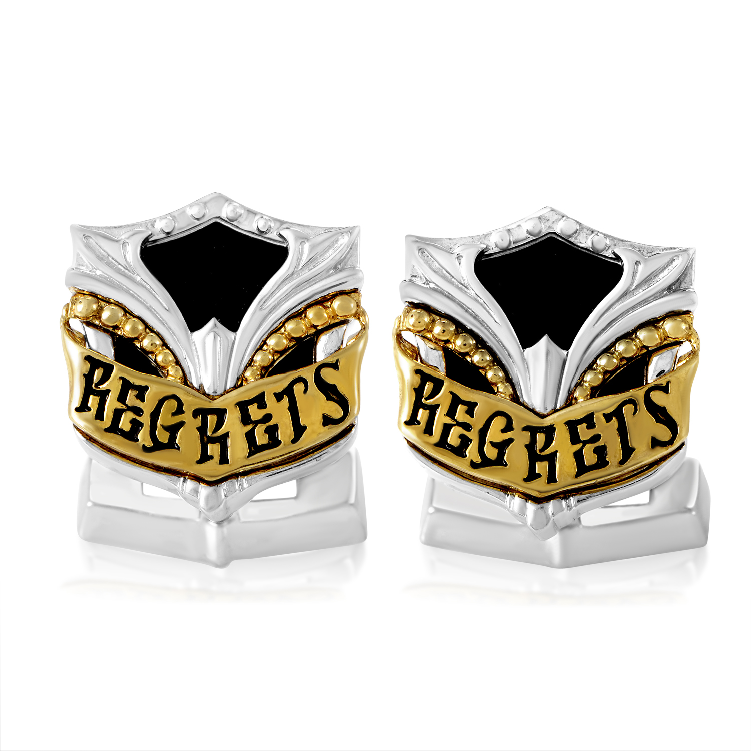 No Regrets Sterling Silver Cufflinks 3013083