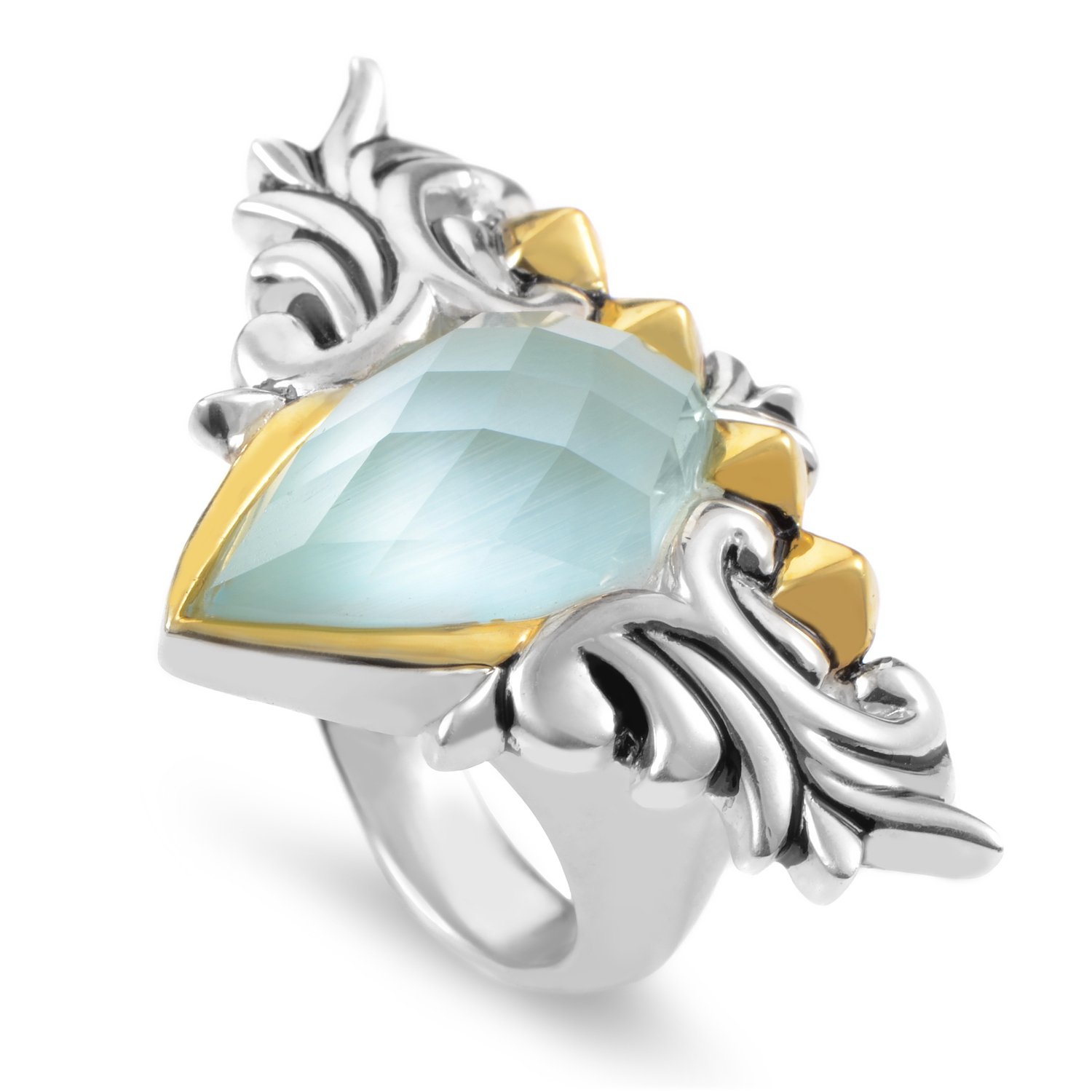 Superstud Women's Sterling Silver & Gemstone Ring 3012781008