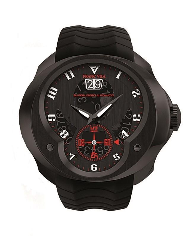 SuperLigero Automatic Big Date Black Titanium FVa61