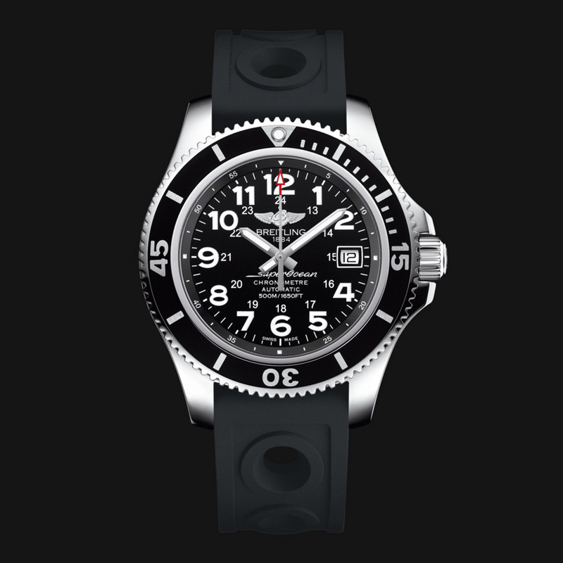 Superocean II 42 A17365C9/BD67/225S/A18S.1 (Stainless Steel)