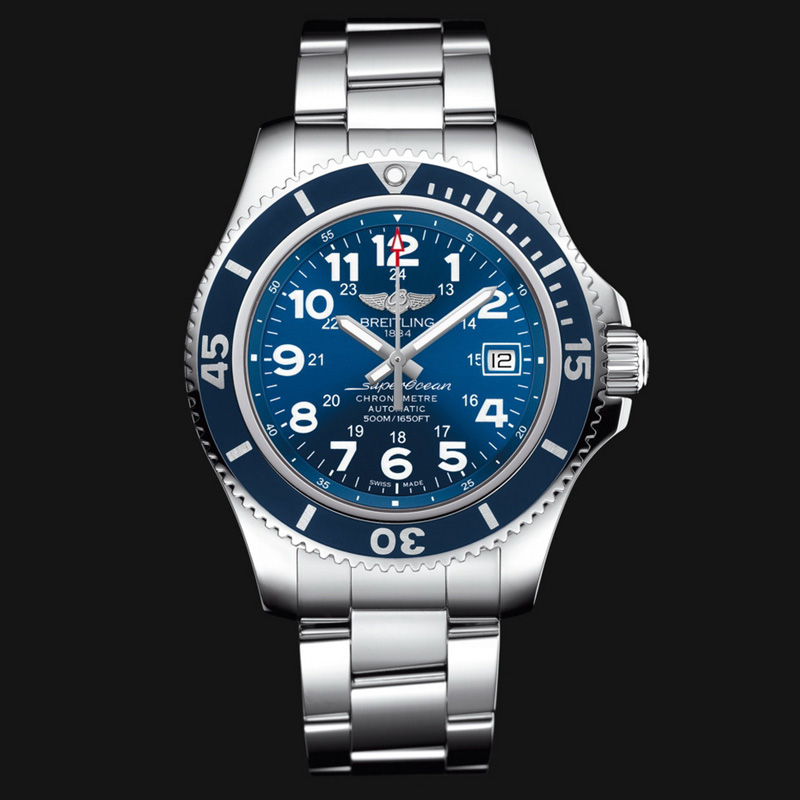 Superocean II 42 A17365D1/C915/161A (Stainless Steel)