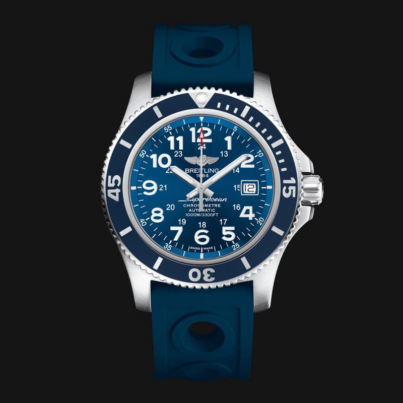 Superocean II 44 A17392D8/C910/228S/A20SS.1 (Stainless Steel)