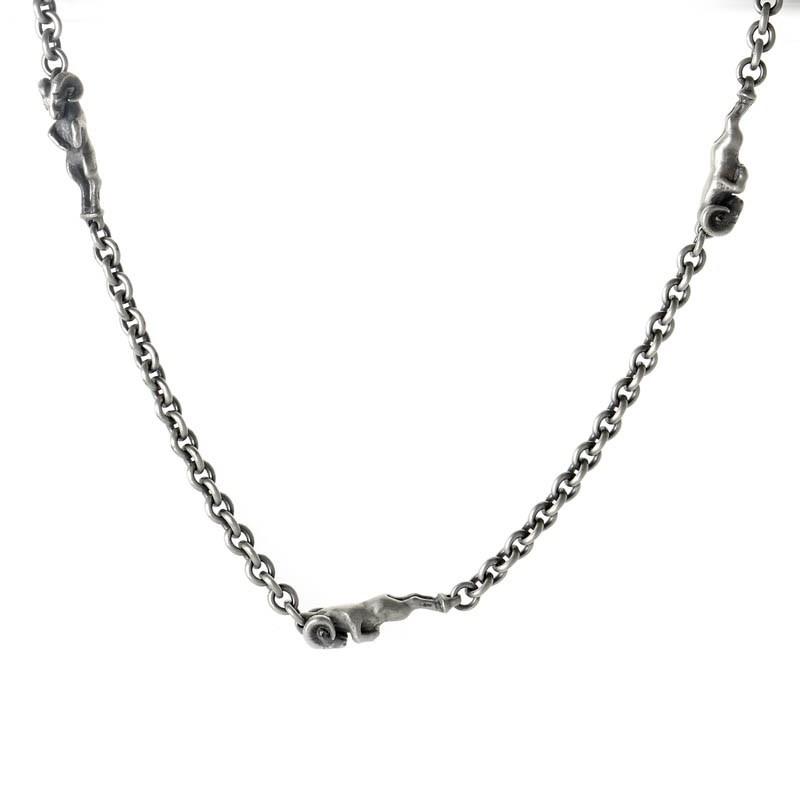 Alias Ram 44 Oxidized Beastie Necklace