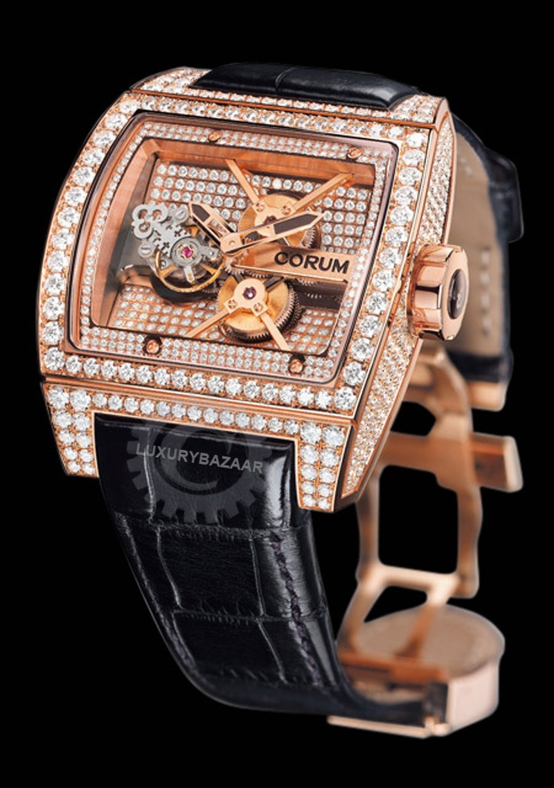 Ti-Bridge Tourbillion Pave 022.705.85/0F81 0000