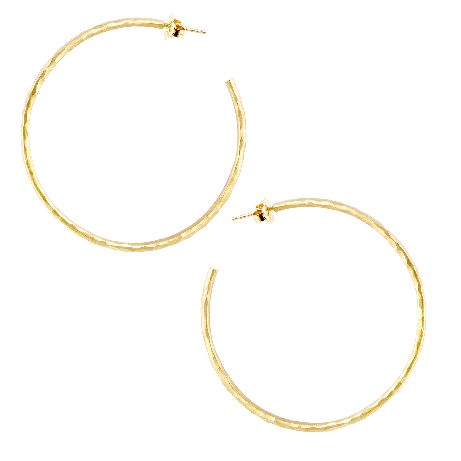 Tiffany & Co. Paloma Picasso Women's 18K Yellow Gold Large Hoop Earrings
