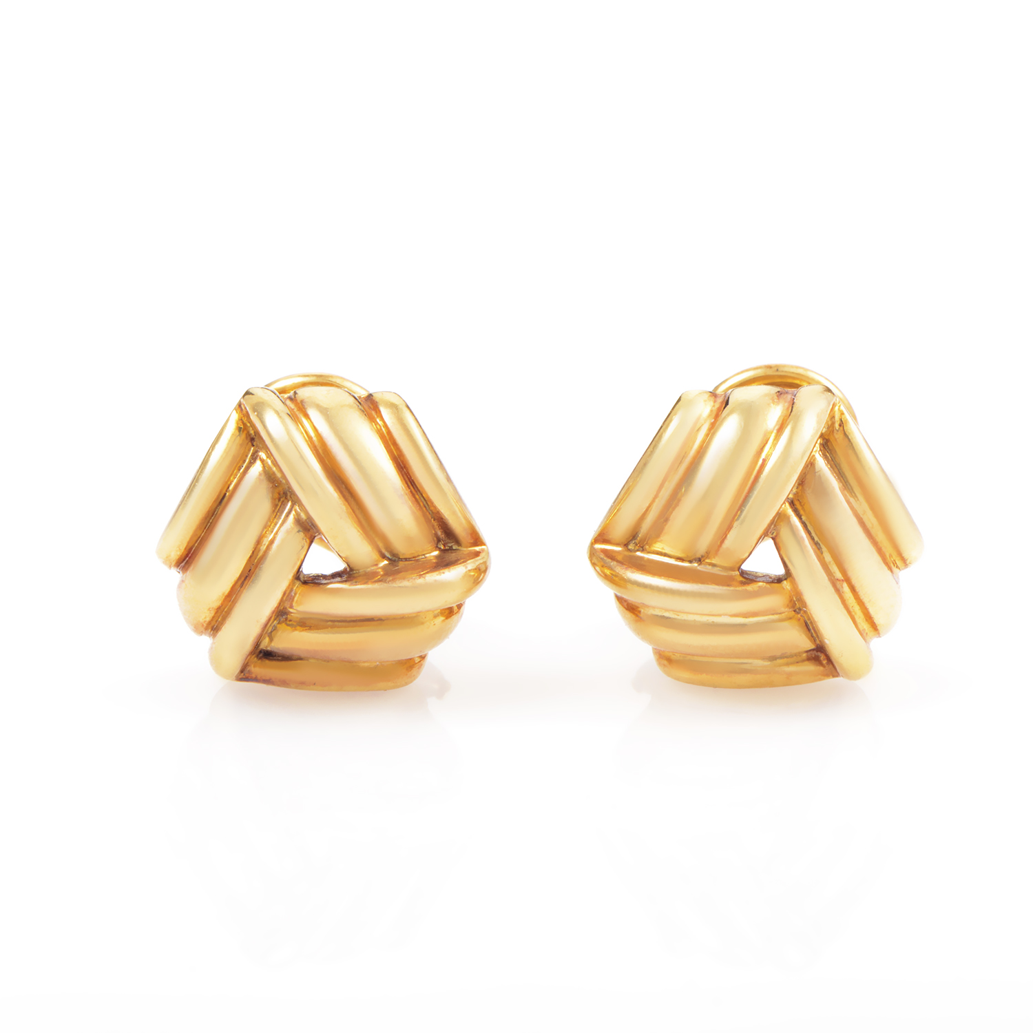 Tiffany & Co. Women's 18K Yellow Gold Clip-on Earrings AK1B3997