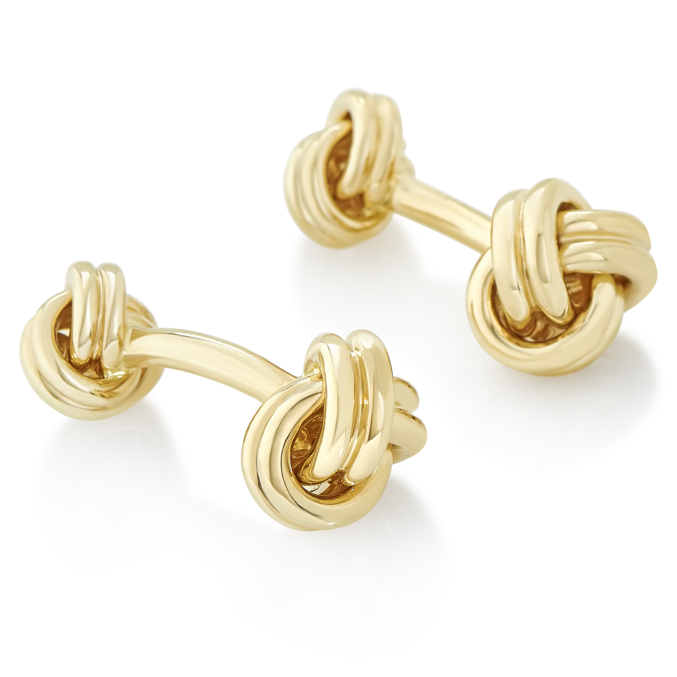 Tiffany & Co. Men's 18K Yellow Gold Knotted Cufflinks