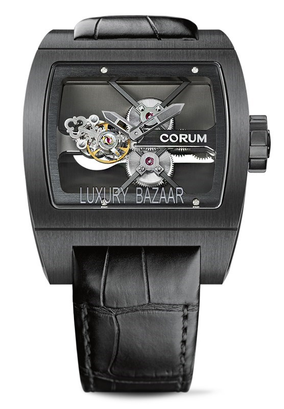 Titanium Bridge Tourbillon Black 022.702.94/0F81 0000