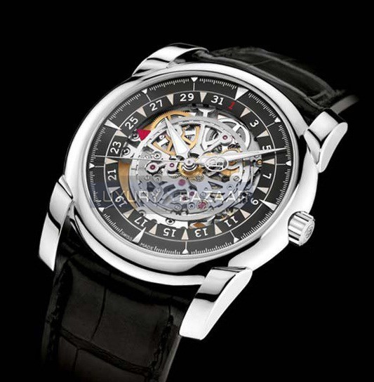 Tonda 42 Skeleton (WG / Graphite-Skeleton / Strap)