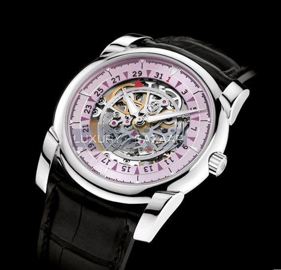 Tonda 42 Skeleton (WG / Lilla-Skeleton / Strap)