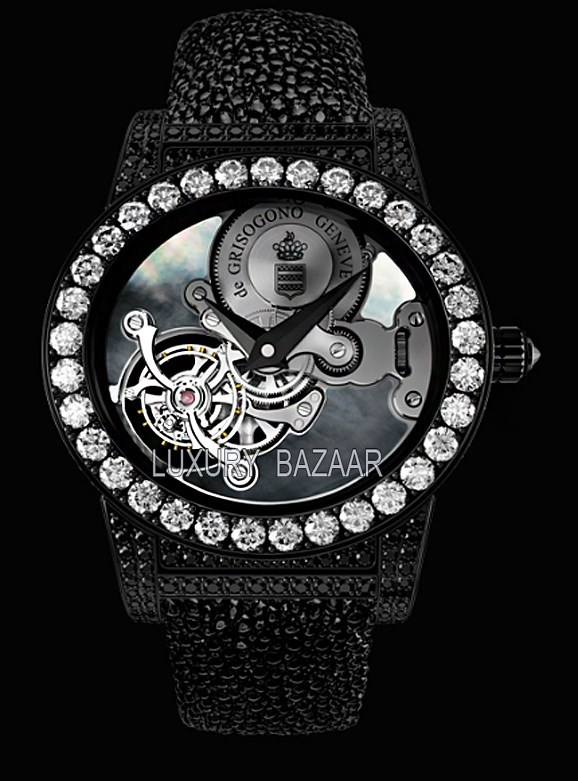 Tondo Tourbillon Gioiello S02 GIO Black