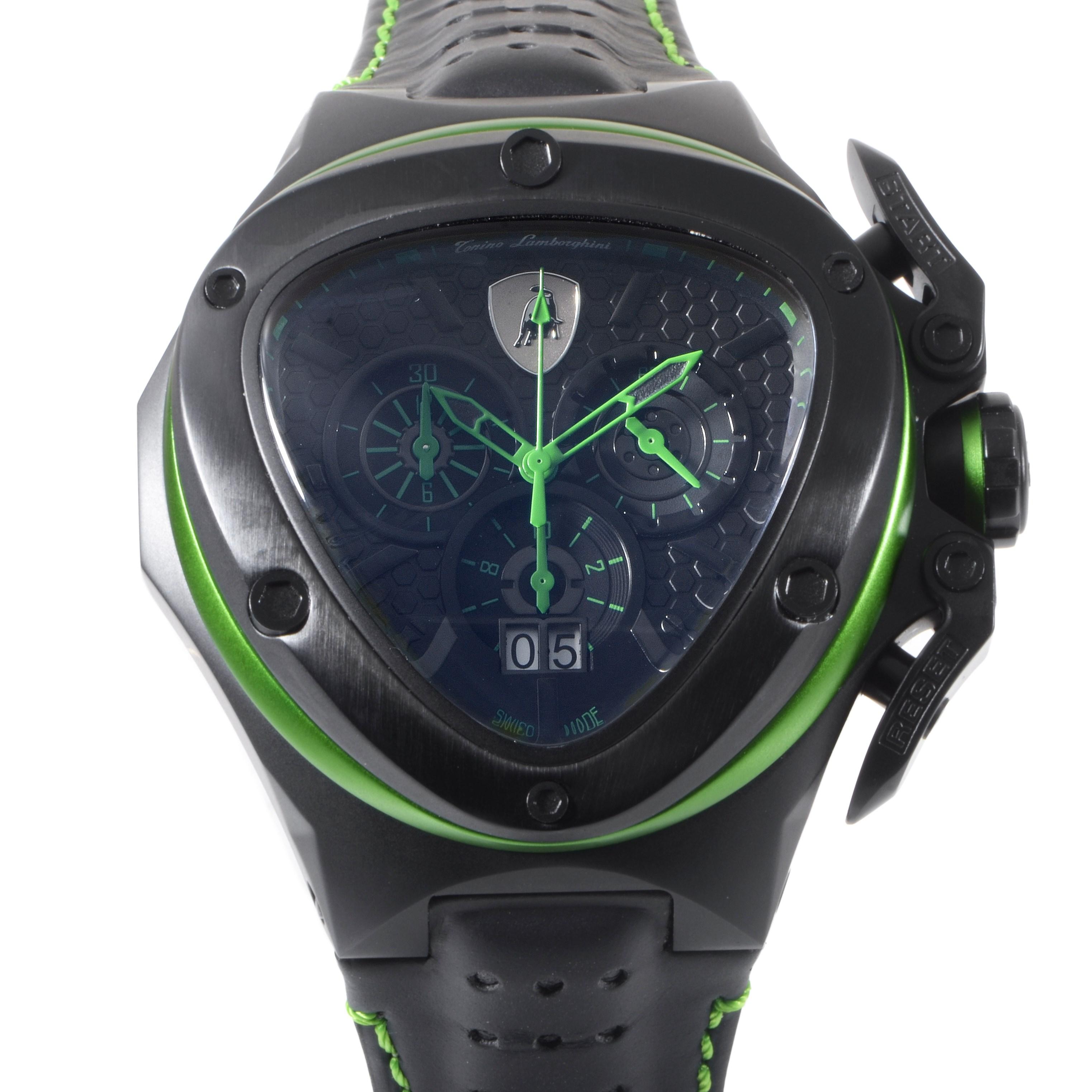 Men's Spyder Dark Line Quartz Chronograph Watch 3123