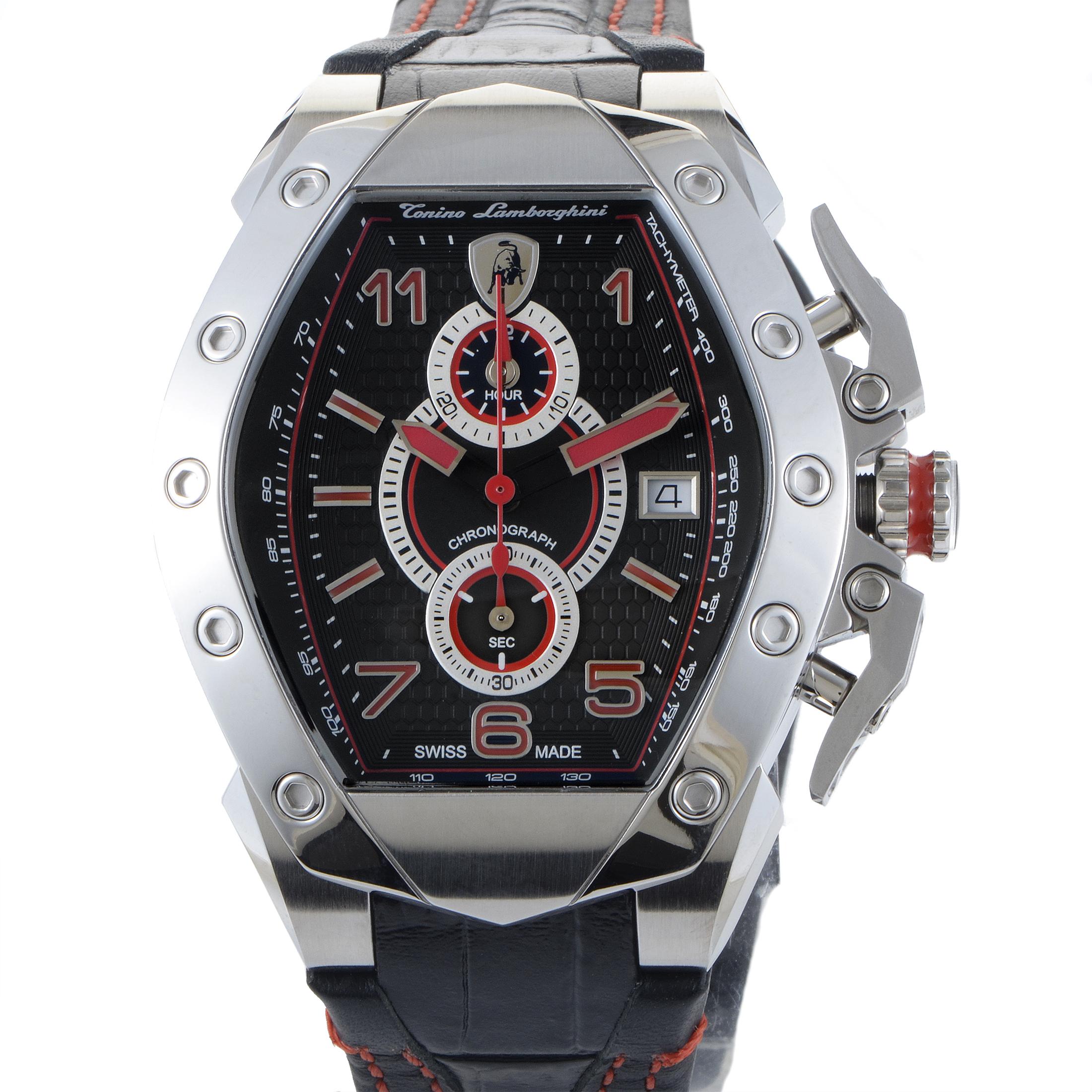 Men's GT3 Stainless Steel Quartz Chronograph Watch GT3-01