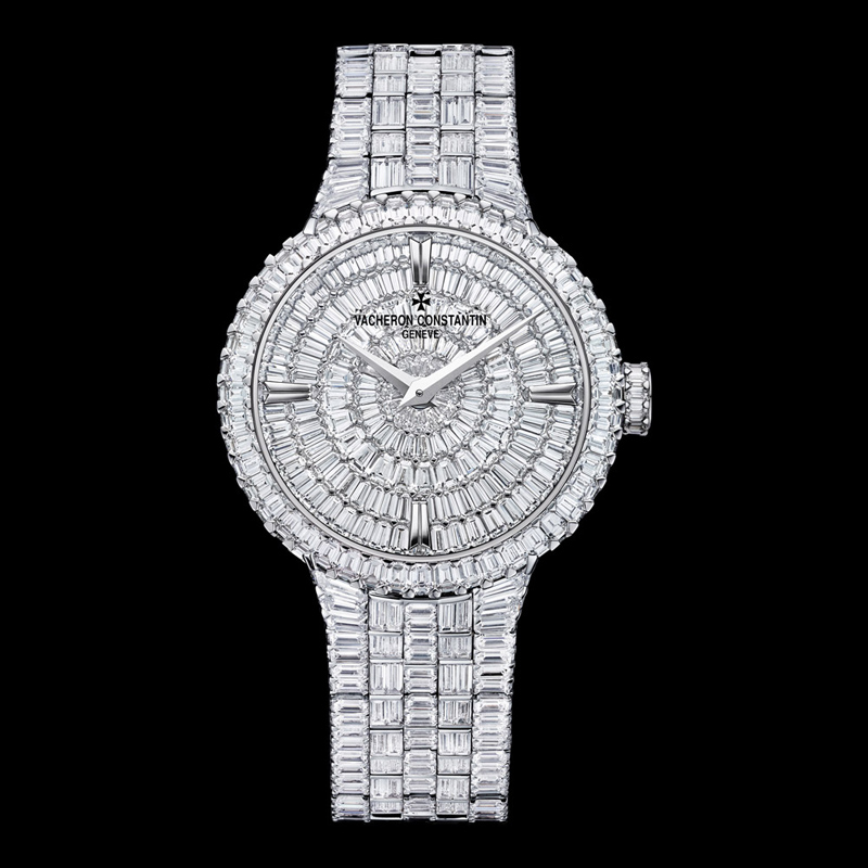 Traditionnelle High Jewellery Small Model 25761/QA1G-9945 (White Gold)