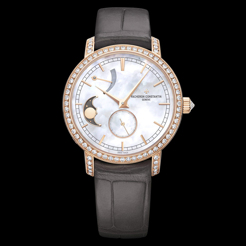 Traditionnelle Moon Phase and Power Reserve Small Model 83570/000R-9915 (Rose Gold)