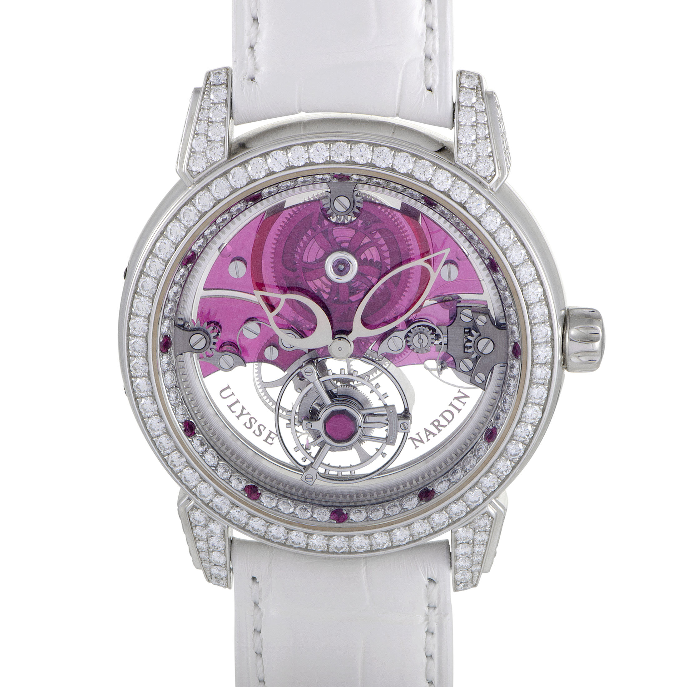 Royal Ruby Womens Manually Wound Tourbillon Watch 799-88