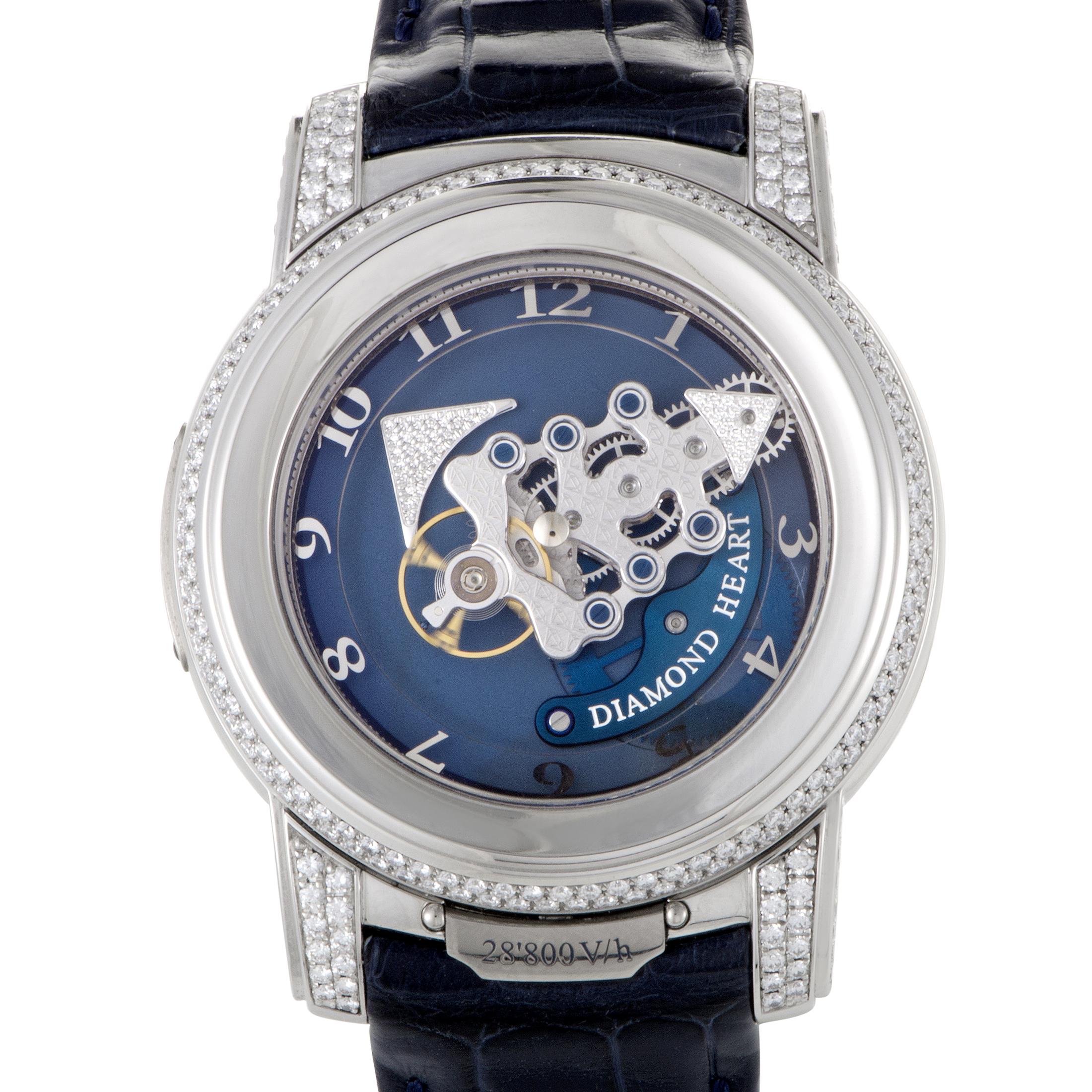 Freak 28800 VH Diamond Heart Mens Watch 44.5mm 029-80