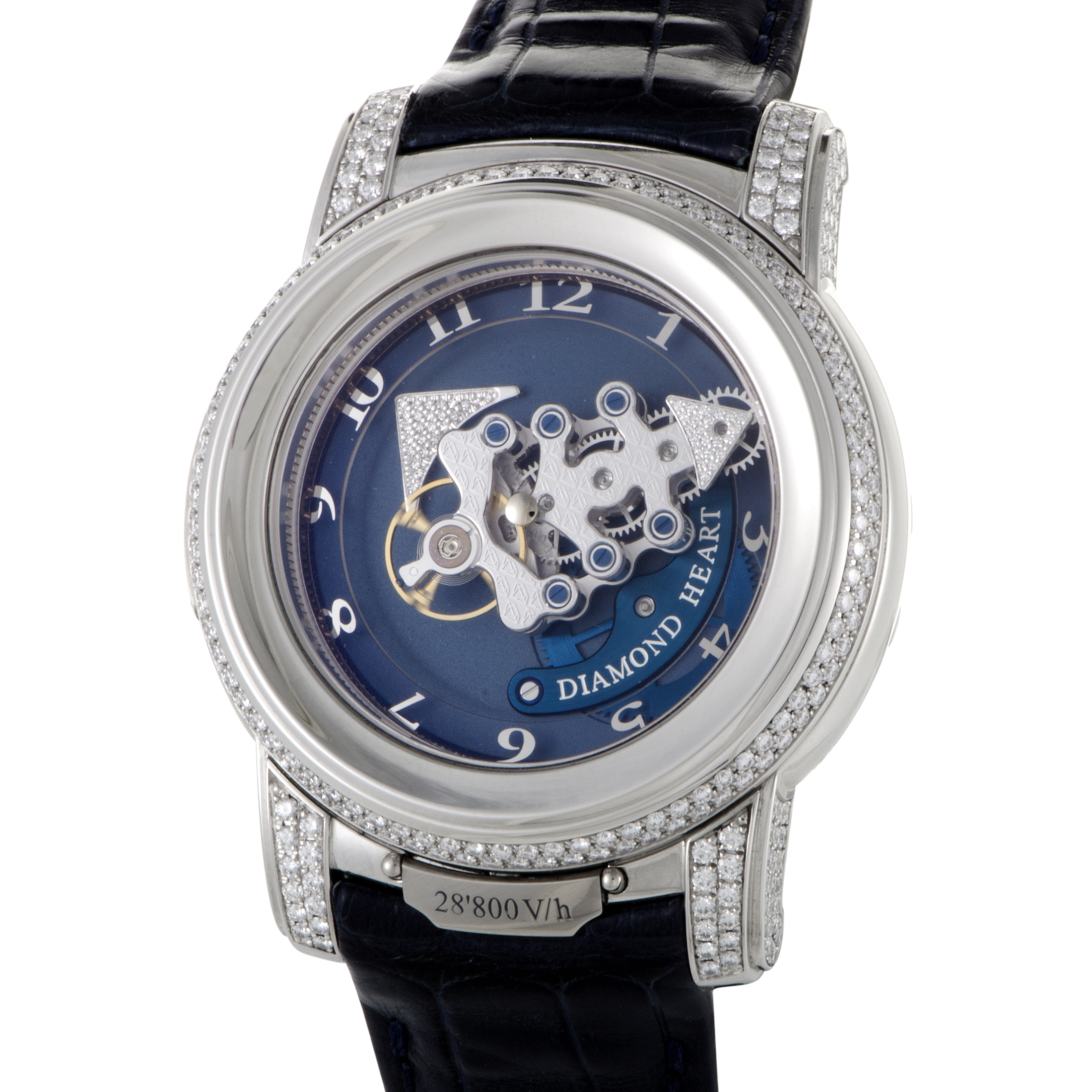 replica Ulysse Nardin Freak 28800 Vh Diamond Heart 029-80