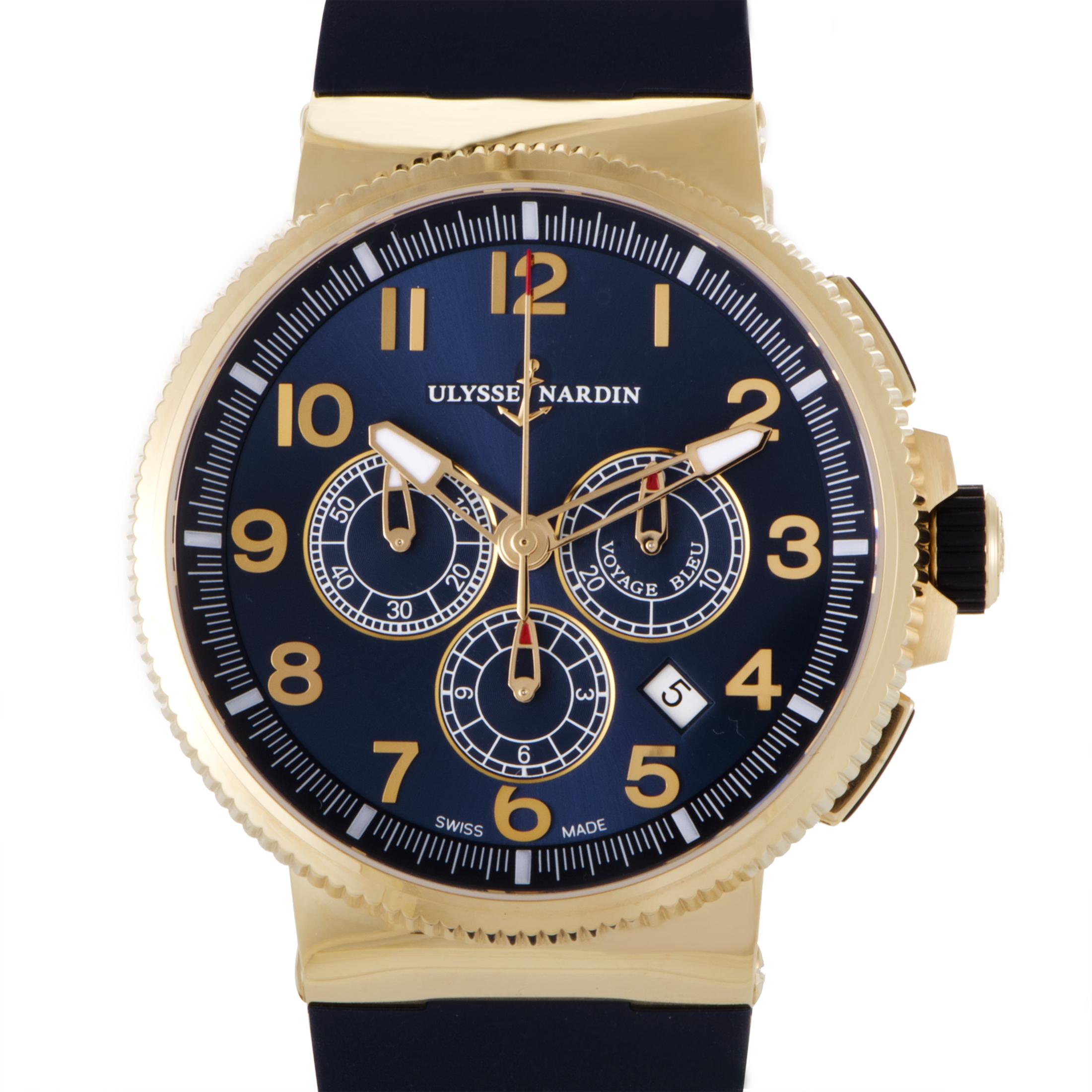 Marine Chronograph Mens Automatic Watch 1506-150