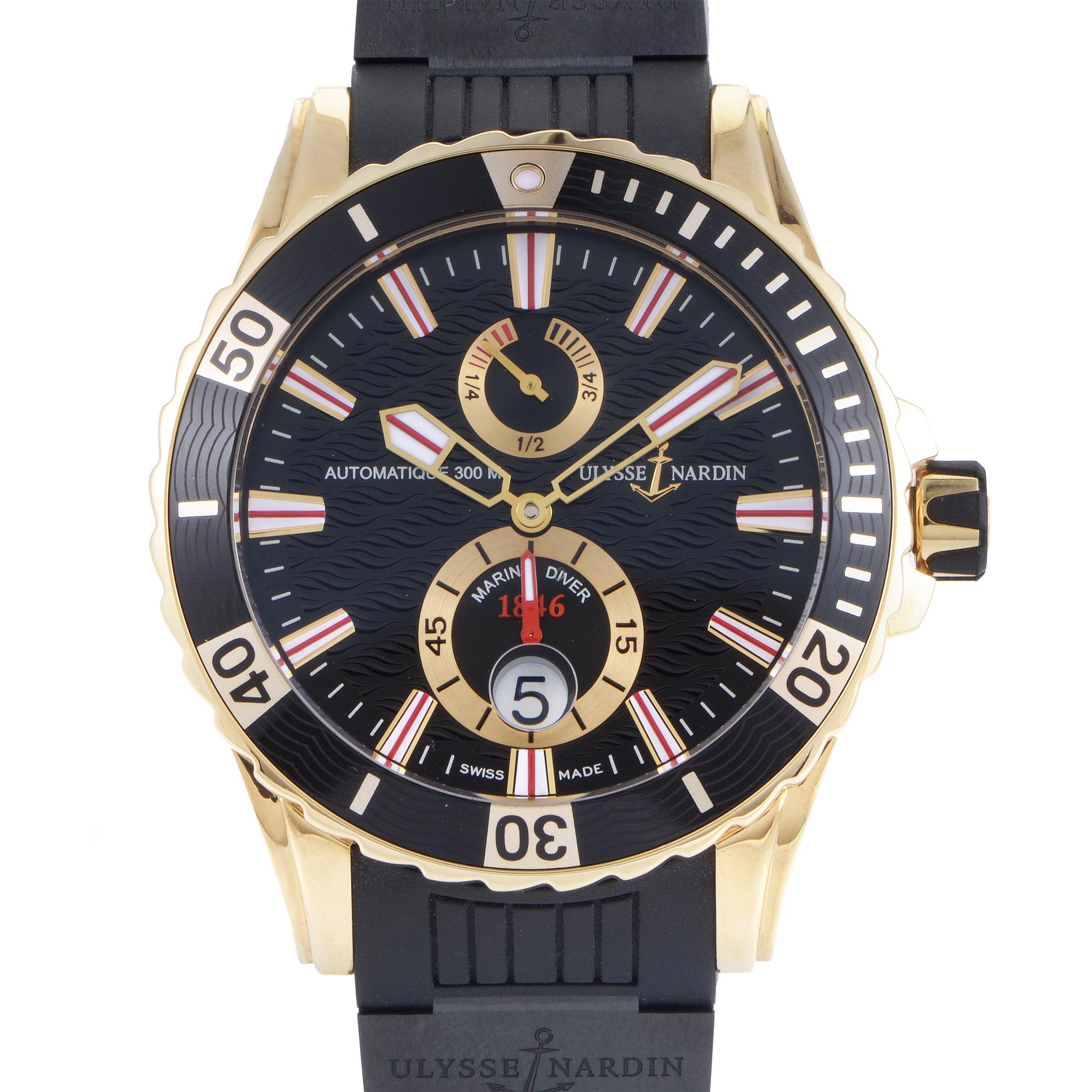 Maxi Marine Diver Men's Automatic Chronograph Watch 266-10-3C/92