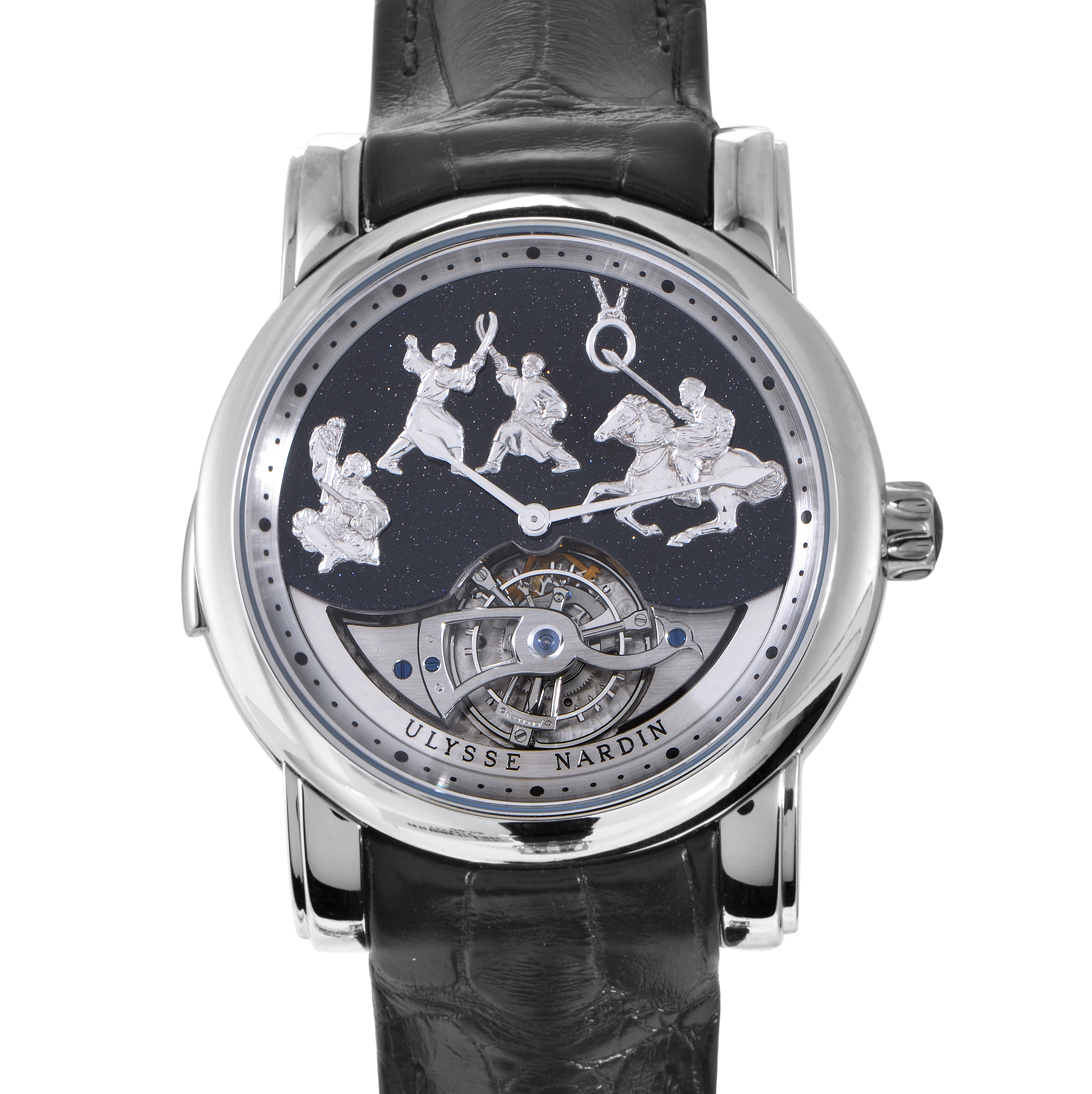 Genghis Khan Minute Repeater Mens Watch 42mm 789-80