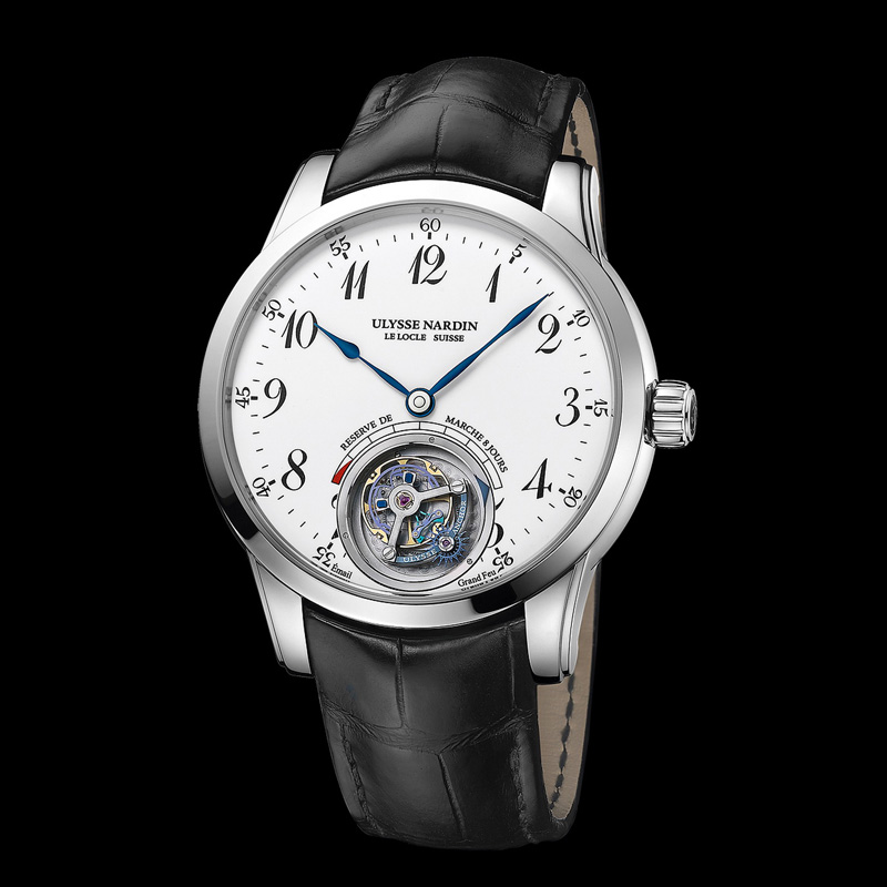 Ulysse Anchor Tourbillon 1780-133 (White Gold)