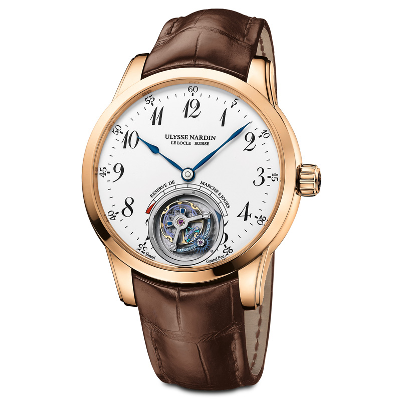 Ulysse Anchor Tourbillon 1786-133 (Rose Gold)