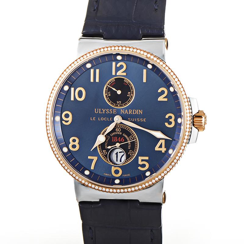 Marine Chronometer Men's Automatic 41mm Watch 265-66/154278