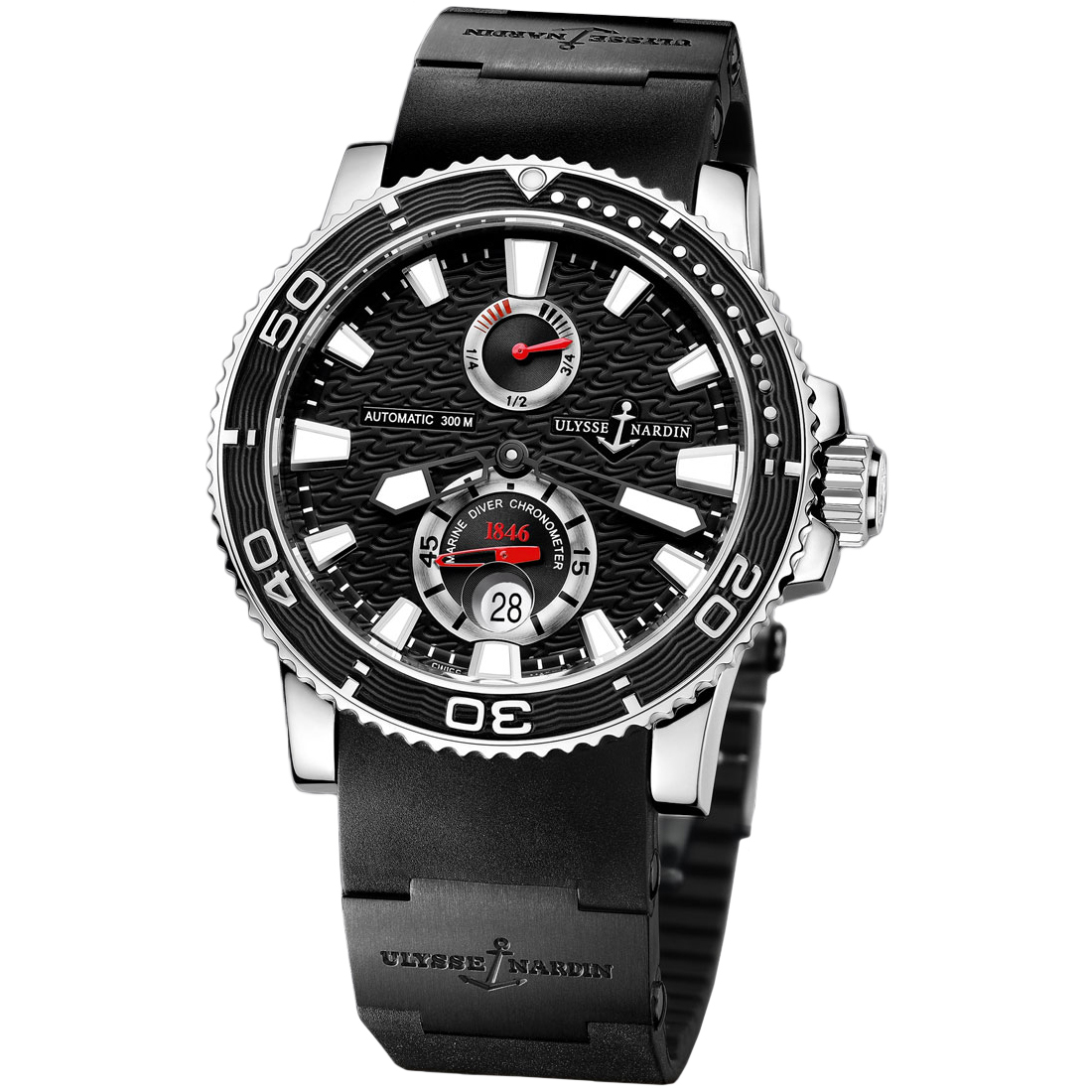 Maxi Marine Diver Chronometer 42.7mm 263-33-3C/82