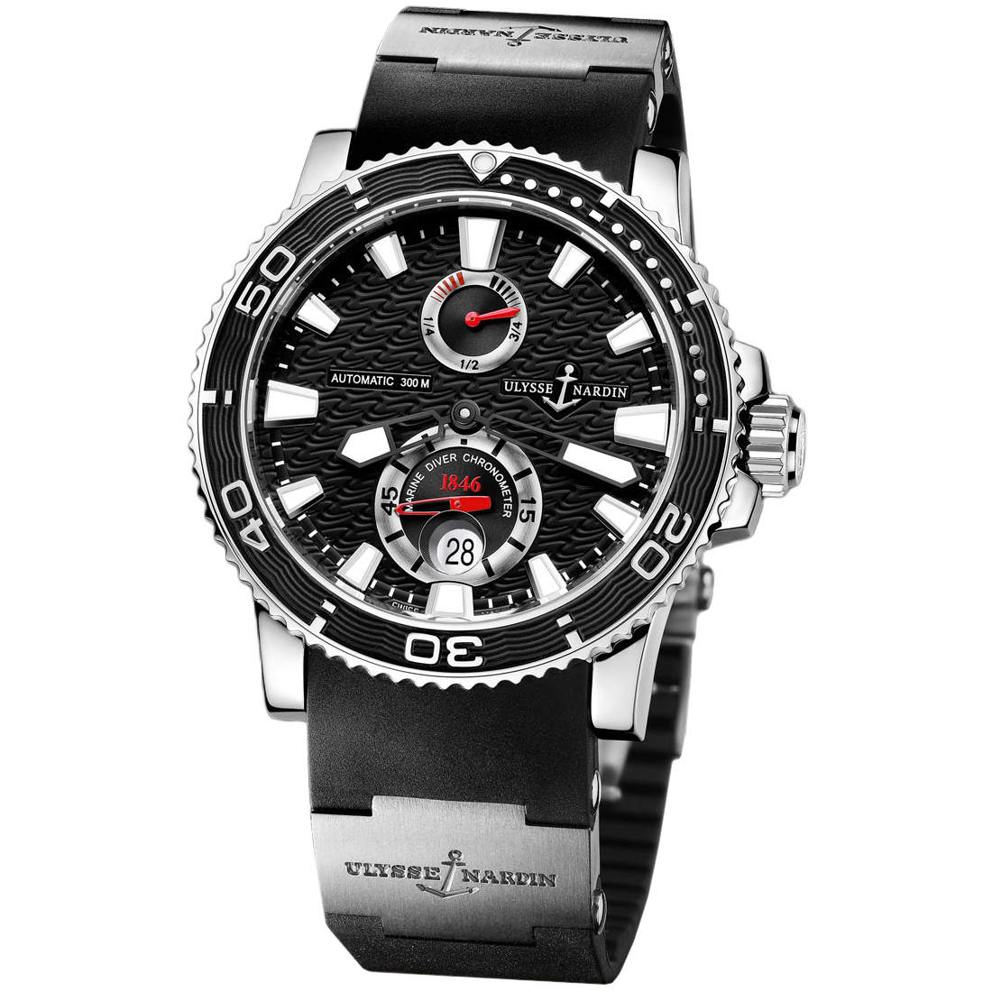 Maxi Marine Diver Chronometer 42.7mm 263-33-3/82
