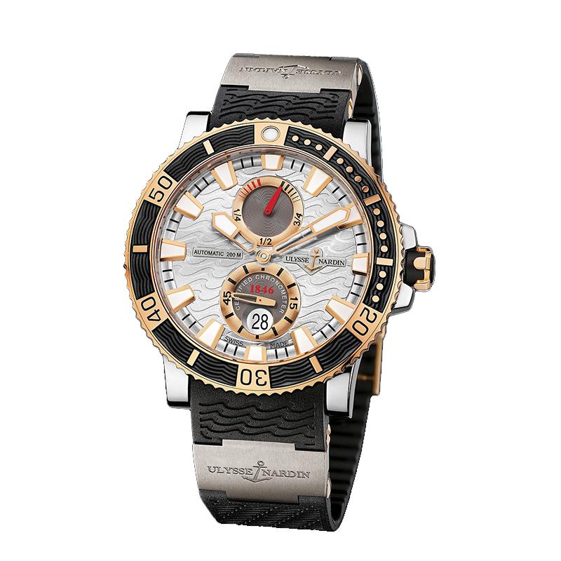 Maxi Marine Diver Chronometer Titanium 45mm 265-90-3T/91