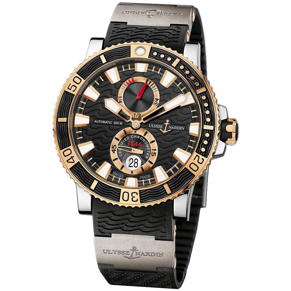 Maxi Marine Diver Chronometer Titanium 45mm 265-90-3T/92