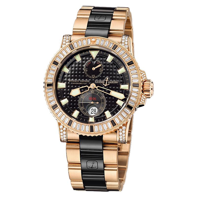 Maxi Marine Diver Chronometer 42.7mm 266-34C/BAG-8C/92