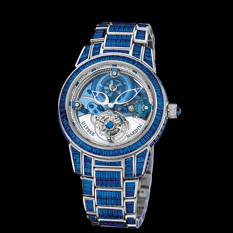 Royal Blue Tourbillon 43mm 799-98BAG-8BAG