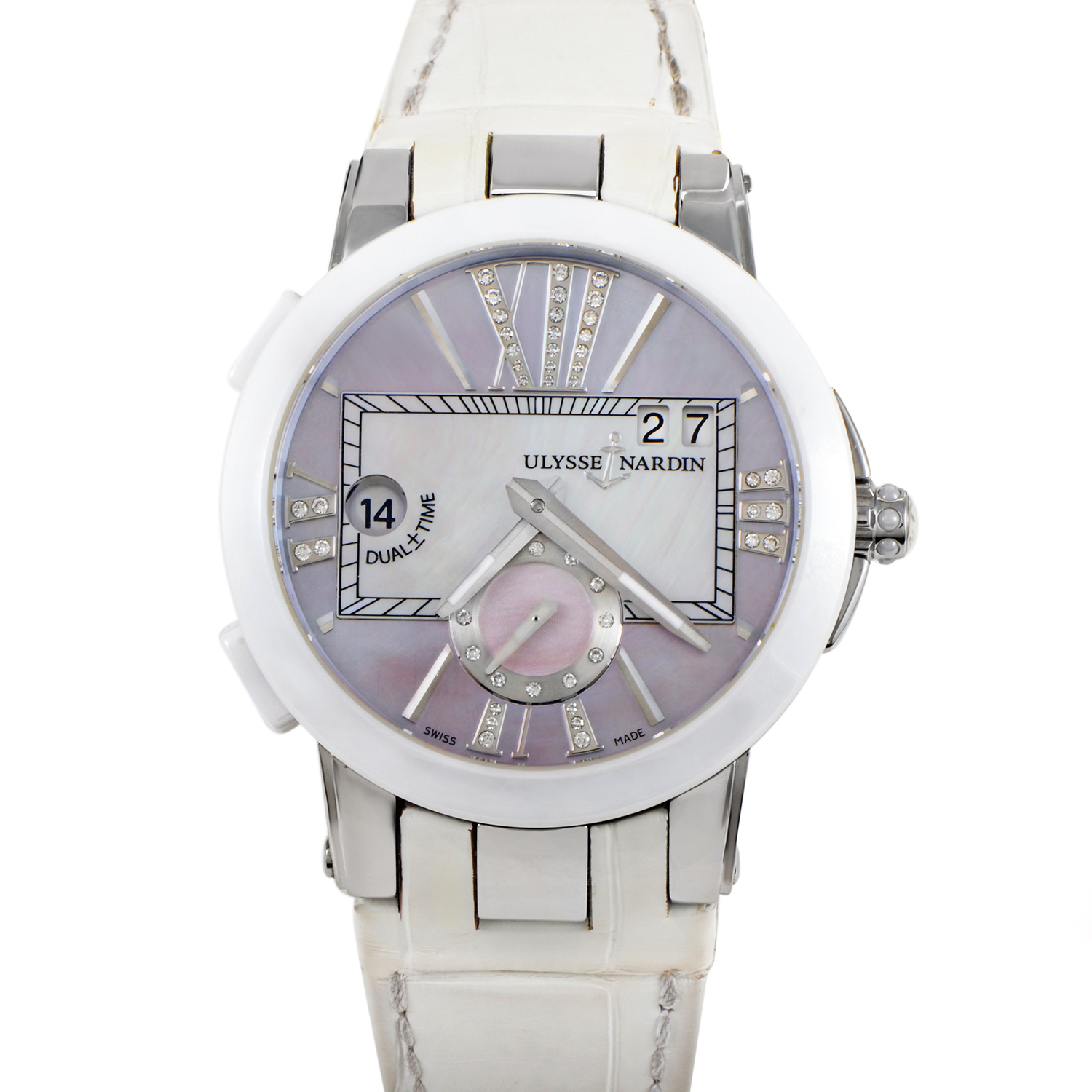 Executive Dual Time Ladies 40mm 243-10/397