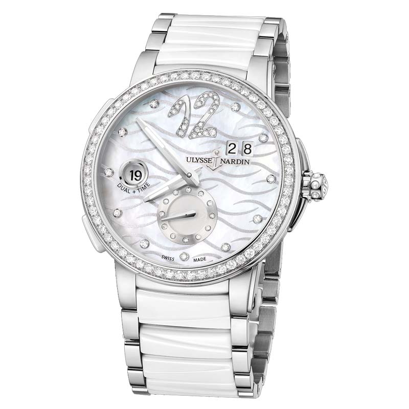 Executive Dual Time Ladies 40mm 243-10B-7/691