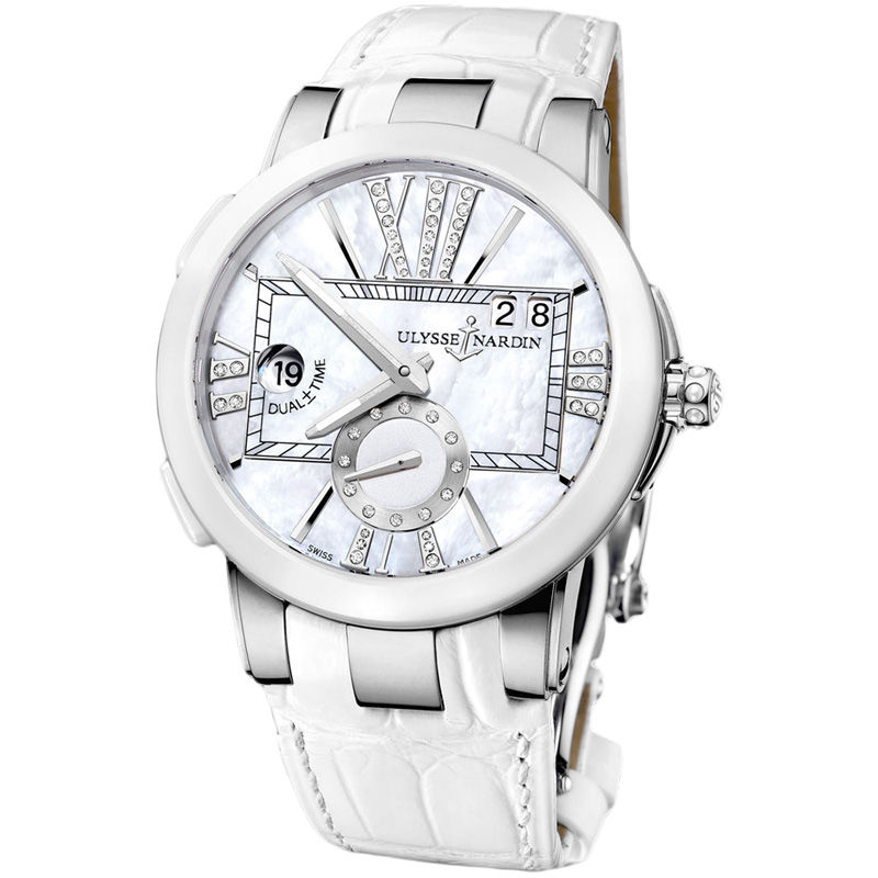 Executive Dual Time Ladies 40mm 243-10/391