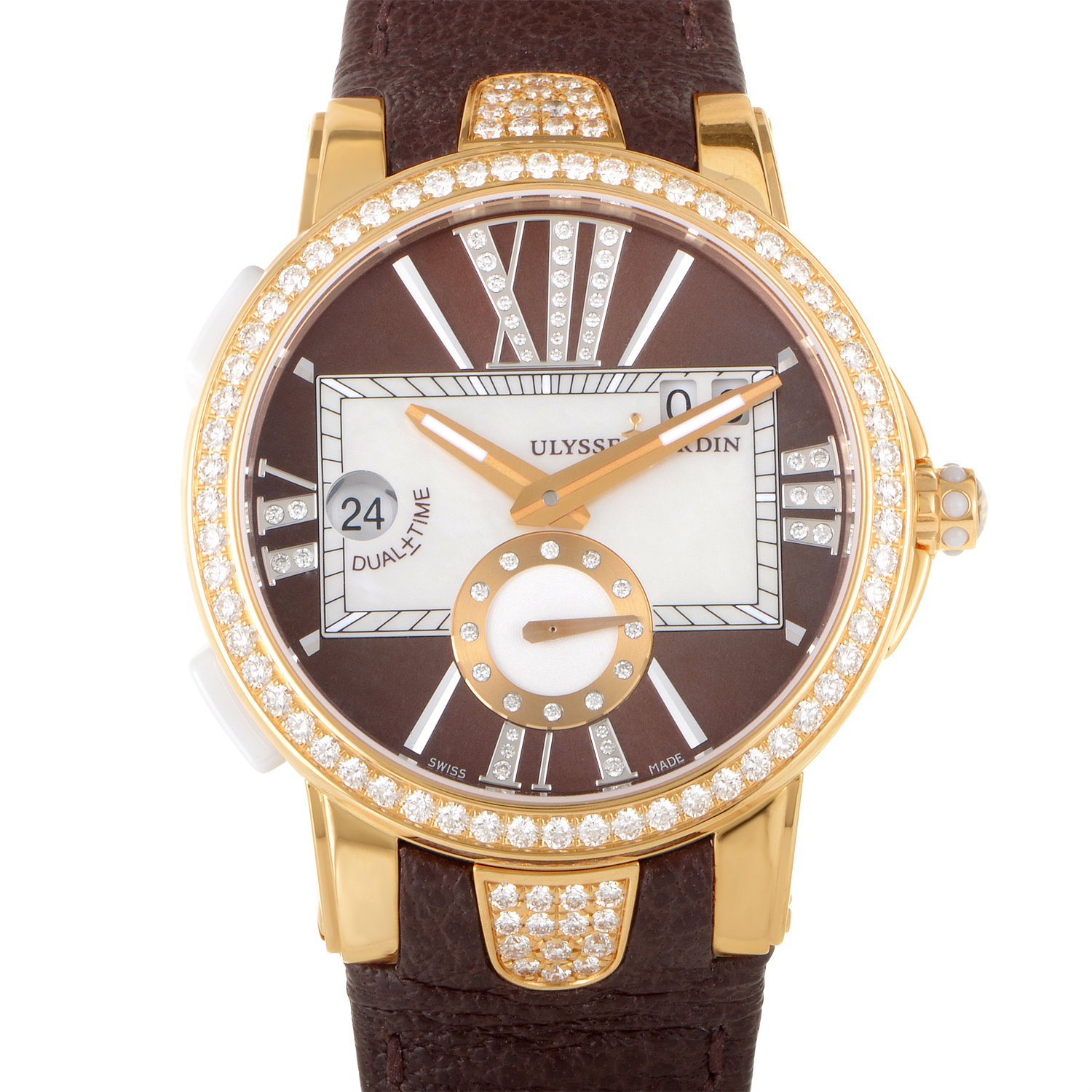 Executive Dual Time Ladies 40mm 246-10B/30-05