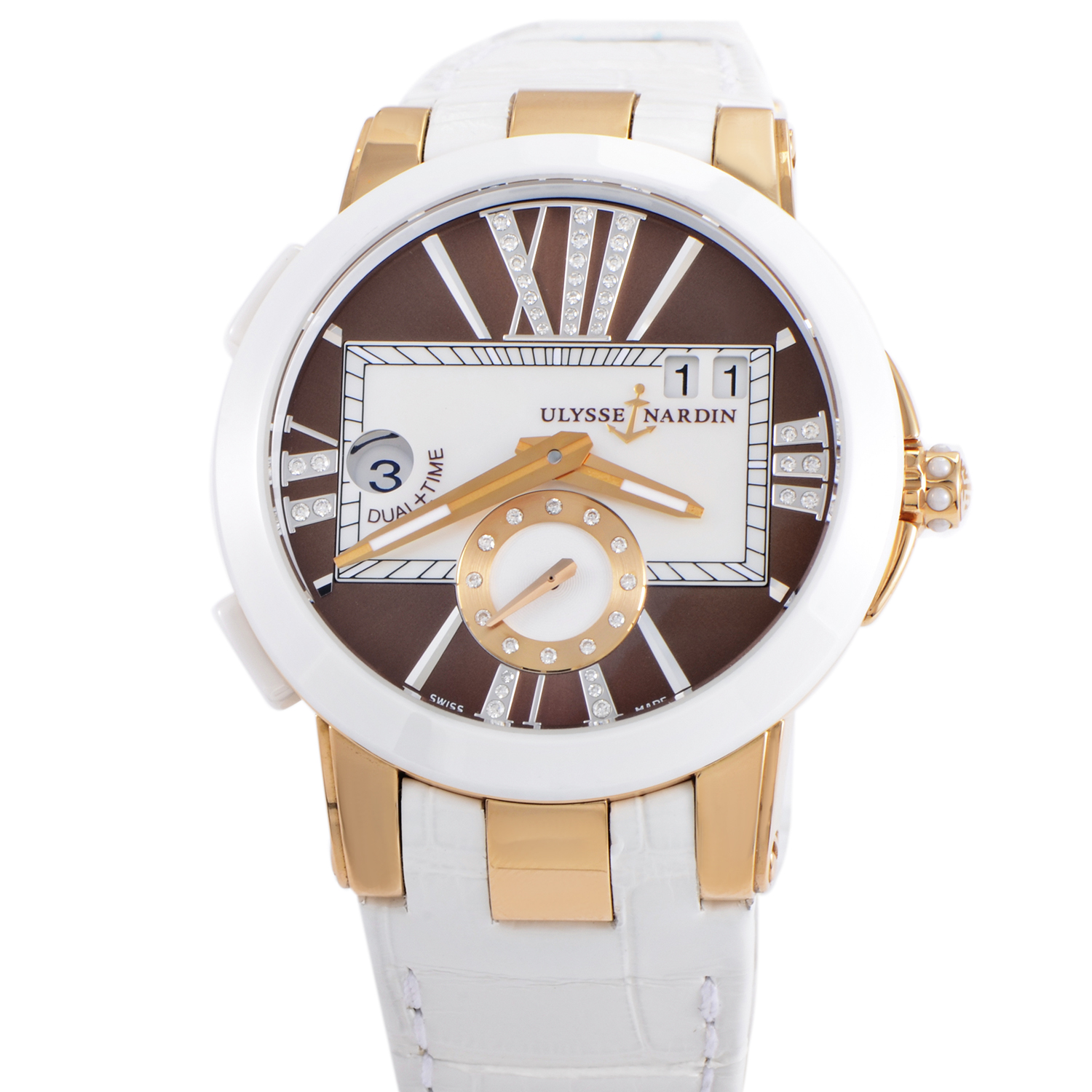 Executive Dual Time Ladies 40mm 246-10/30-05