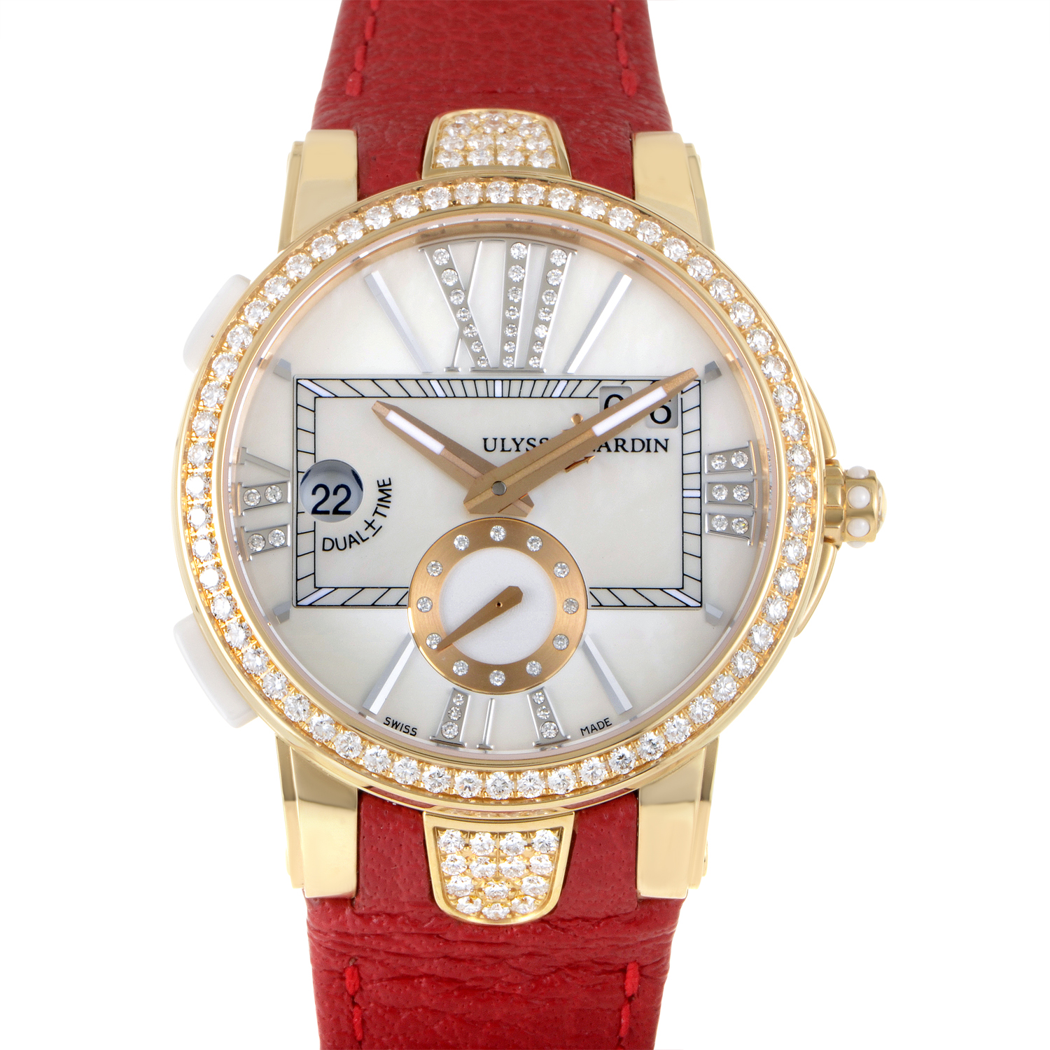 Executive Dual Time Ladies 40mm 246-10B/391